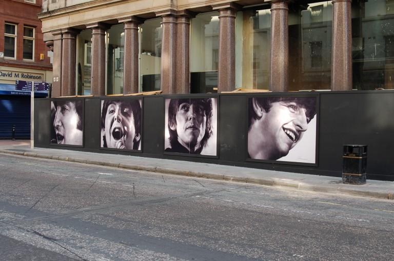 Framed Hoarding Panels